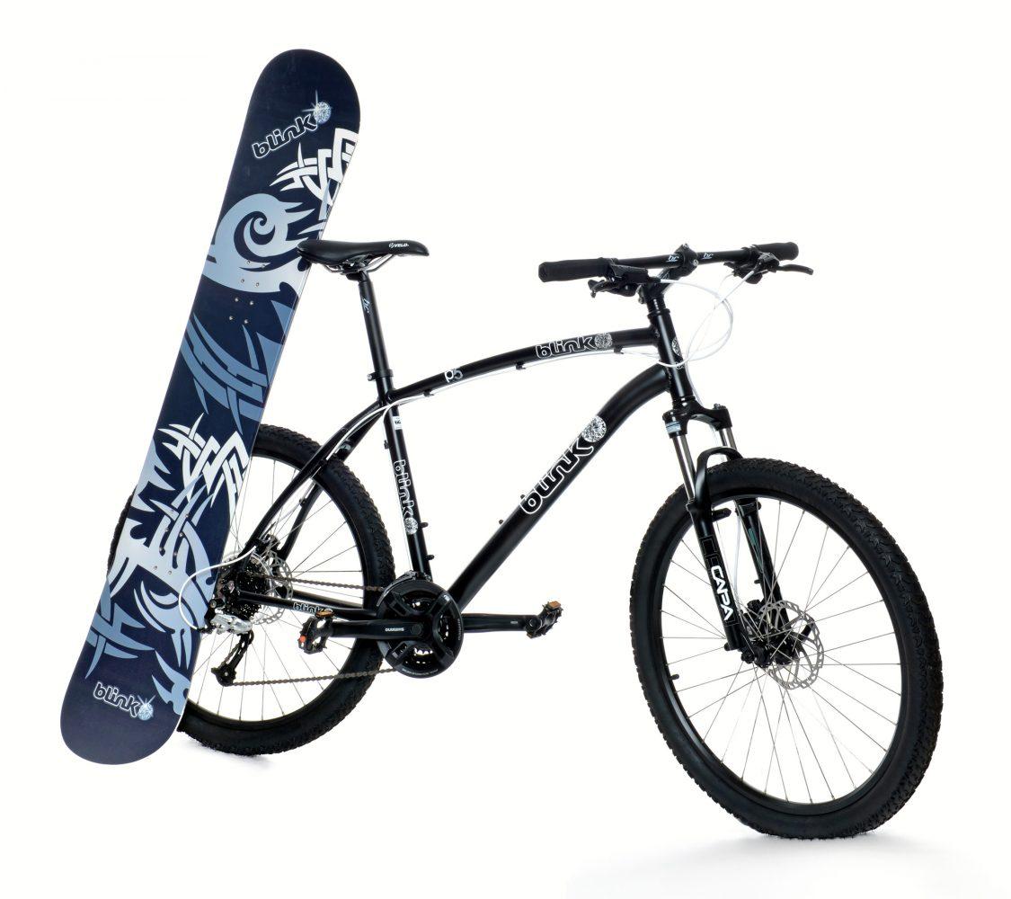 BLINK snowb. og sykkel